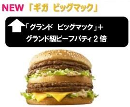 マクドナルド、ギガビッグマックの大きさ.jpg