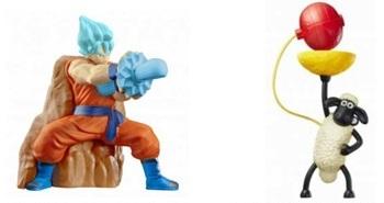ハッピーセット「ドラゴンボール超」「ひつじのショーン」おもちゃ一例2017年5月.jpg