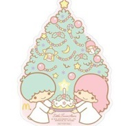 マクドナルドのハッピーセット12月3日4日キキララの週末プレゼントシール.jpg