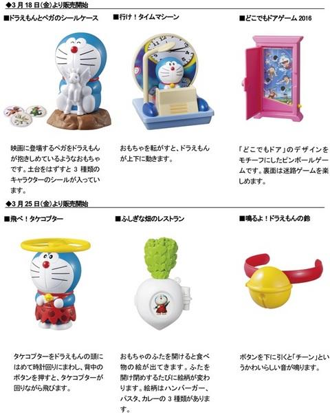 マクドナルドハッピーセット次回2016年3月~4月ドラえもん6種類のおもちゃ.jpg