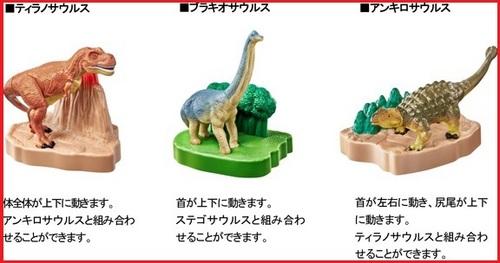 マックのハッピーセット、アニア恐竜2016年5月27日からの3種類2.jpg