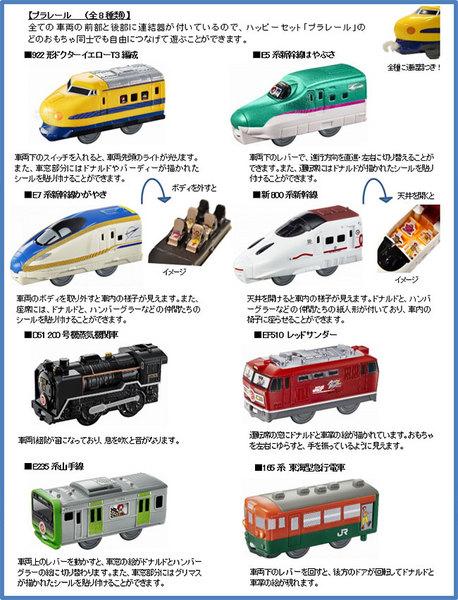 マックのハッピーセット次回「プラレール2017」8種類おもちゃ2017年10月13日.jpg